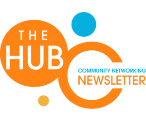 The HUB: Community Networking Newsletter logo