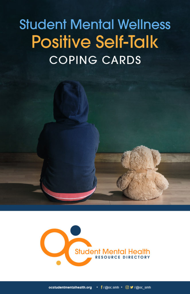 Student Mental Wellness Positive Self-Talk Coping Cards cover
